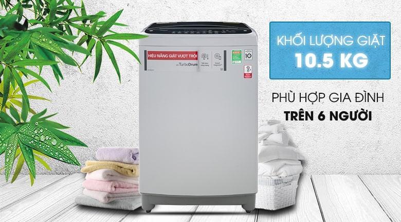 máy giặt LG 10.5 kg T2350VS2M