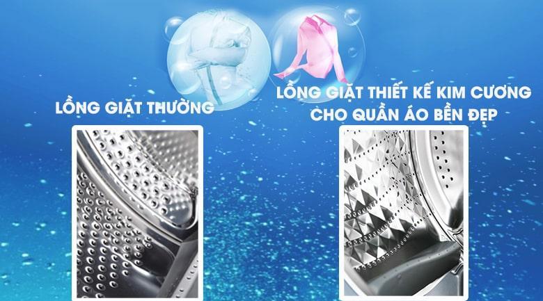 máy giặt Samsung 8kg WW80J52G0KW/SV