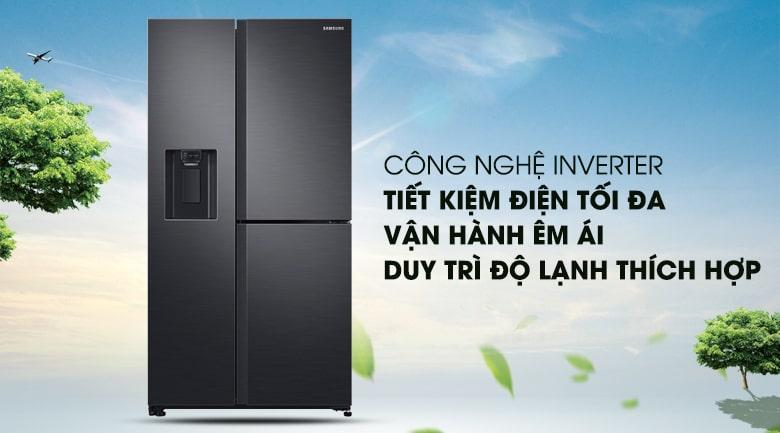 công nghệ inverter tiết kiệm điện tối đa vận hành êm ái,duy trì độ lạnh thích hợp