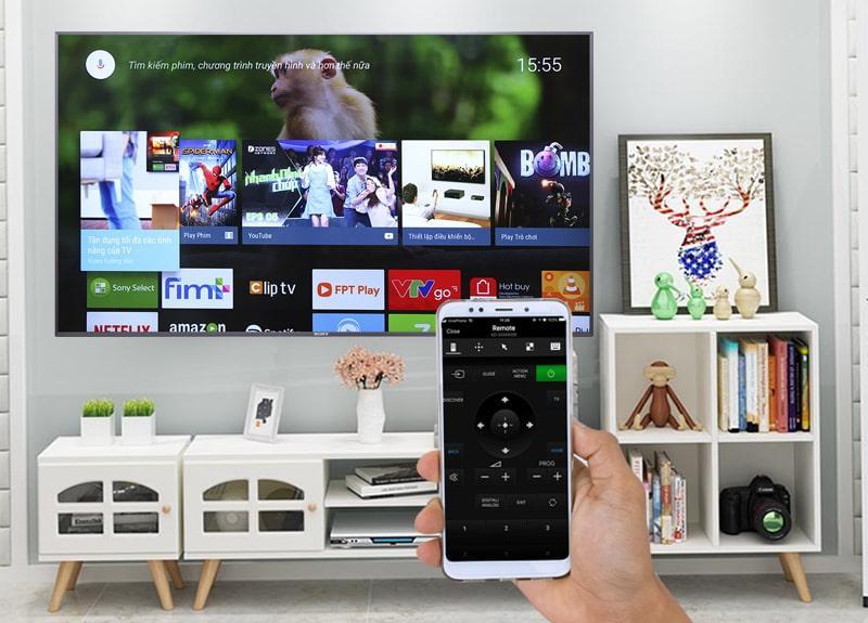 ứng dụng ideo & TV SideView điều khiển tivi bằng di dộng