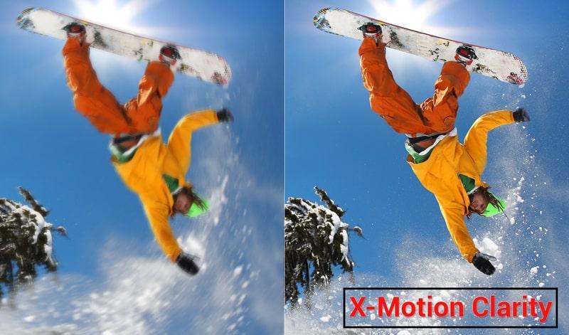 công nghệ X-Motion Clarity