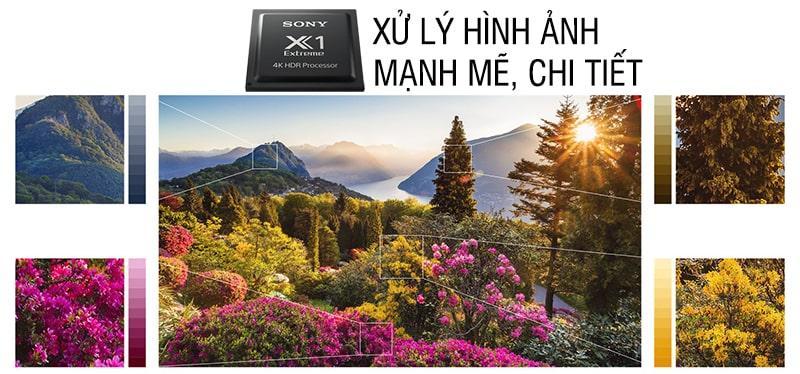 chíp xử lý hình ảnh trên Tivi Sony KD-65X9000F