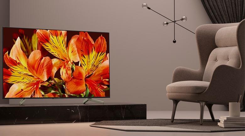 Tivi Sony KD-75X8500F có thiết kế sang trọng
