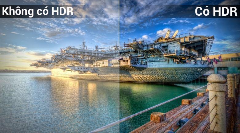 công nghệ HDR trên Tivi Sony KD-75X8500F