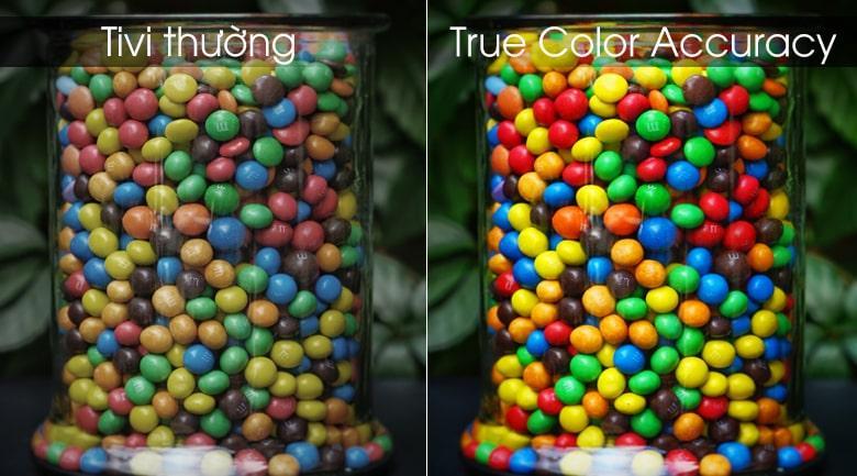 công nghệ True Color Accuracy trên Tivi LG 55UM7290PTD