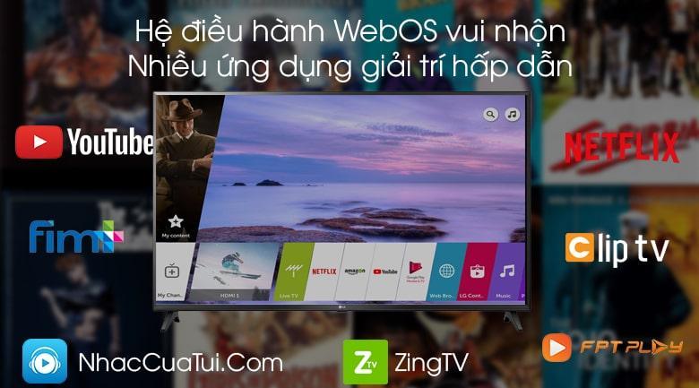 hệ điều hành WebOS nhiều ứng dụng