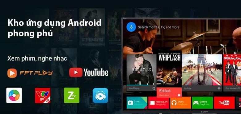 hệ điều hành android với kho ứng dụng phong phú
