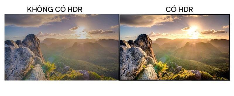Tivi Sony KD-55X8500G/S độ tương phản chất lượng