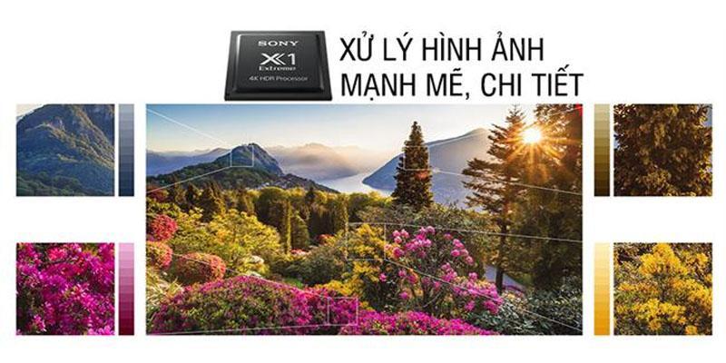 Tivi Sony KD-55X9000F hình ảnh trung thực