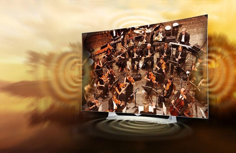 Tivi Sony KD-55X9000F âm thanh sống động