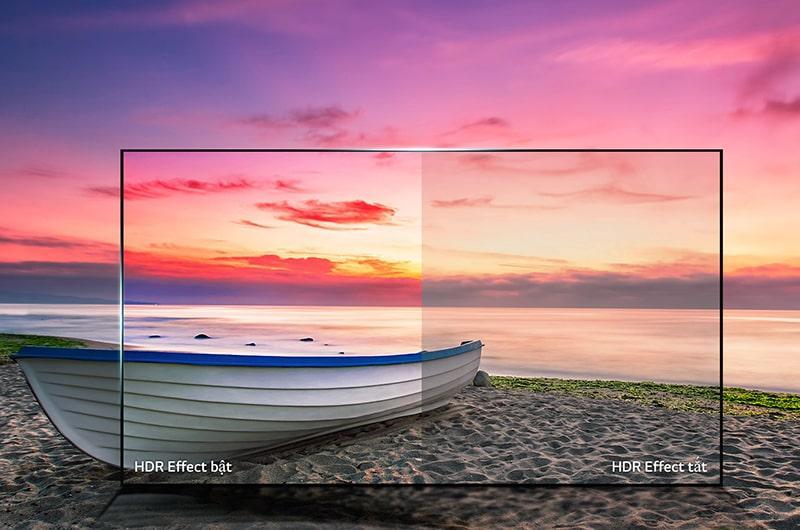 công nghệ HDR trên Tivi LG 55UK6540PTD