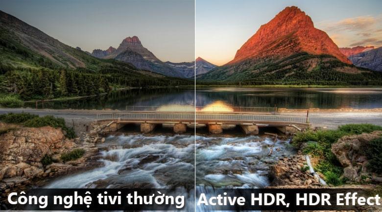 công nghệ Active HDR trên Tivi LG 55UK7500PTA