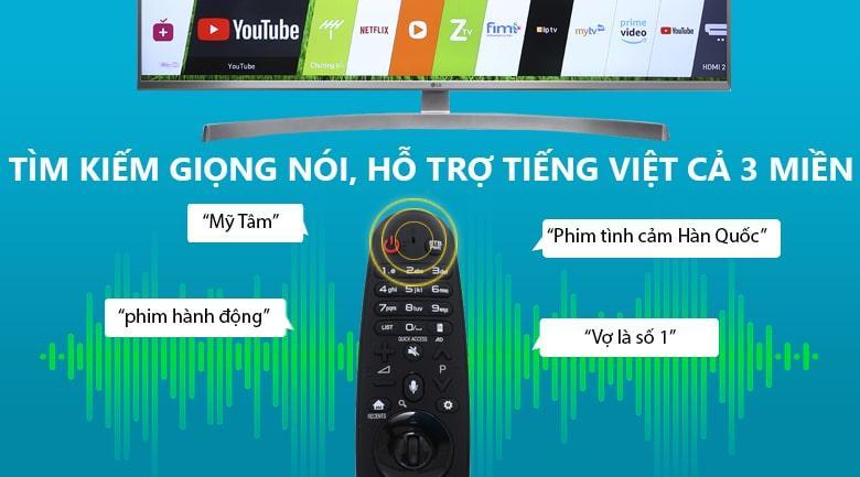 remote tìm kiếm giọng nói hỗ trợ tiếng việt
