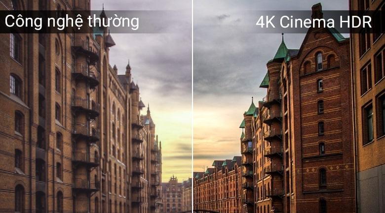 công nghệ 4K Cinema HDR trên Tivi OLED LG 65C8PTA