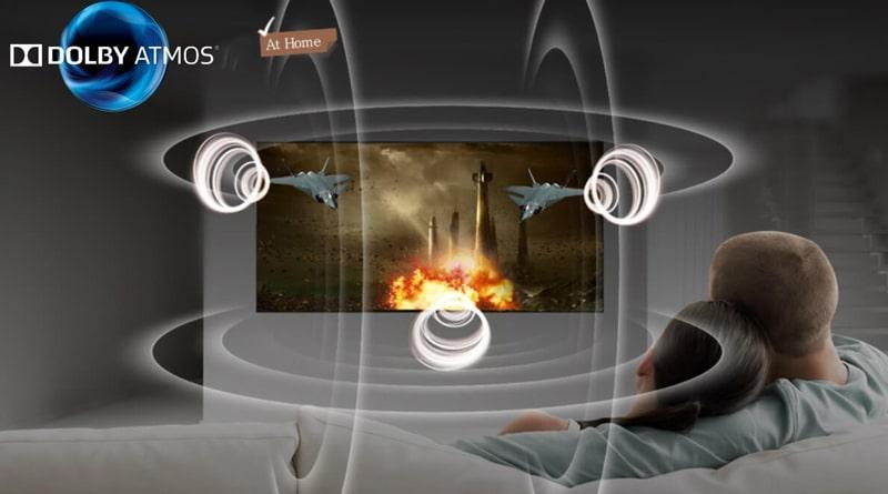 công nghệ âm thanh dobly mang đến trải nghiệm âm thanh như rạp chiếu