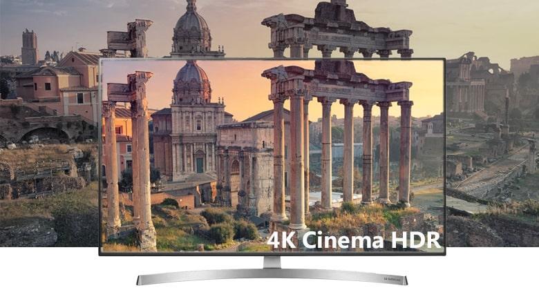 công nghệ 4K Cinema HDR trên Tivi LG 65SK8500PTA