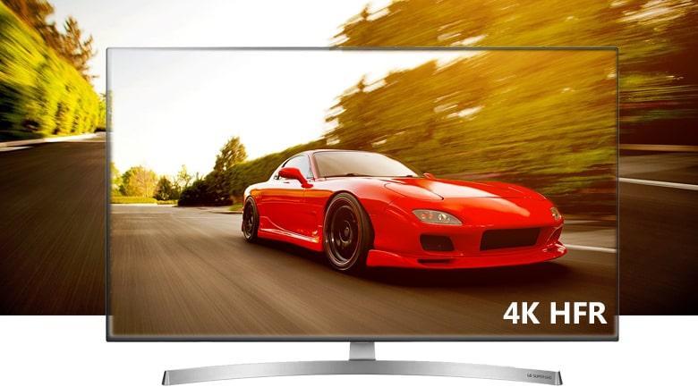 công nghệ 4K HFR trên Tivi LG 65SK8500PTA