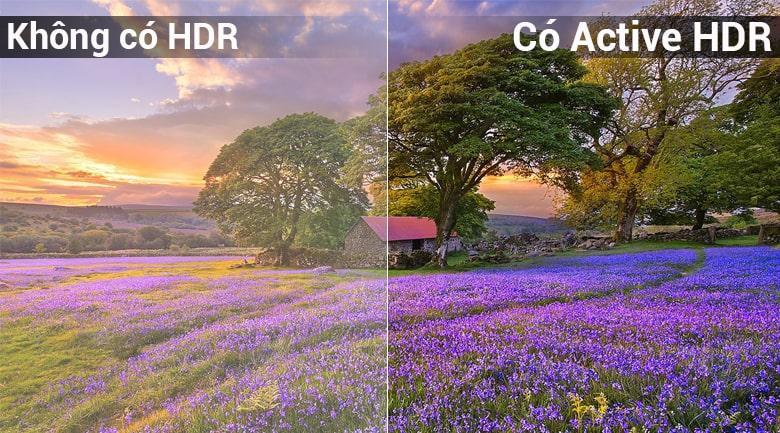 công nghệ active HDR trên Tivi LG 65UK6100PTA
