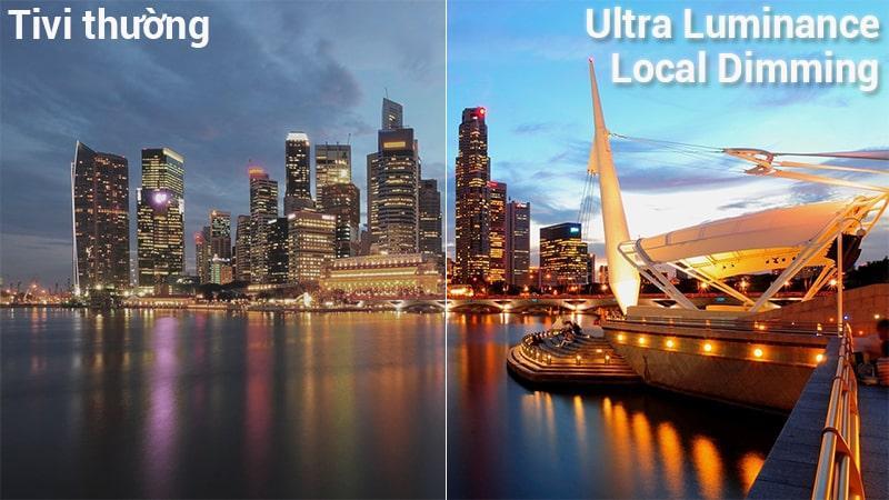công nghệ Ultra Luminance Local Dimming trên Tivi LG 65UK6540PTD