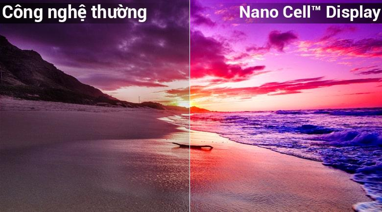 Công nghệ Nano Hiển thị tế bào điện thoại Tivi Tivi LG 70UK6540PTA