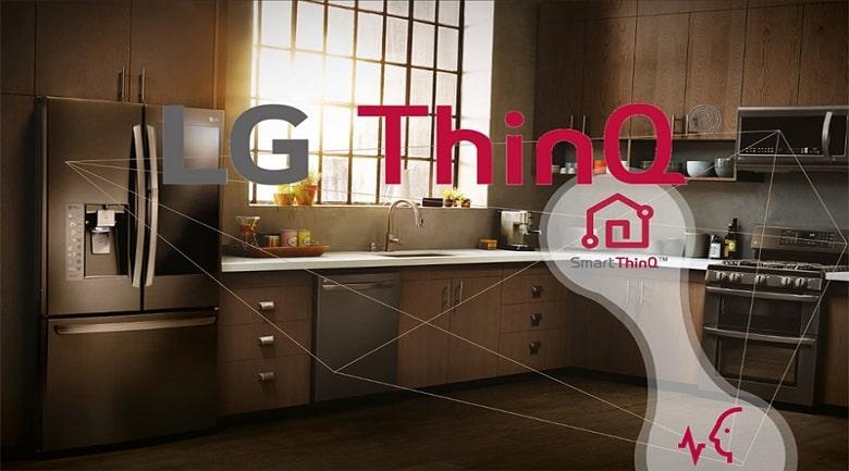 vị trí thông minh và kết cấu LG ThinQ
