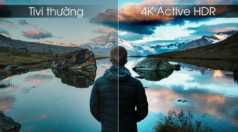 4K active HDR trên Tivi LG 75UK6500PTB