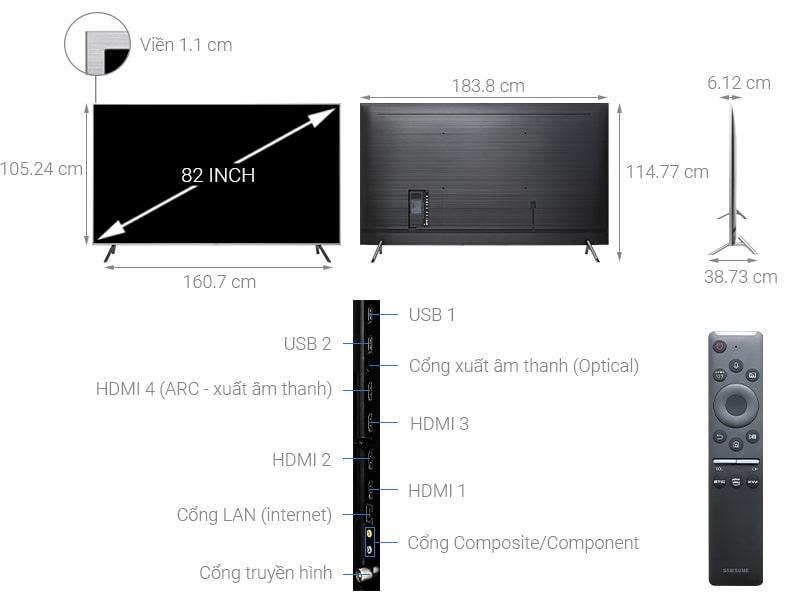 Tivi QLED Samsung QA82Q65R