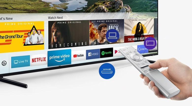 mart Tivi QLED Samsung 8K 75 inch QA75Q900R