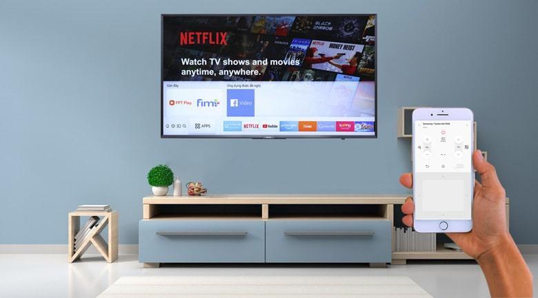 Tivi Samsung UA43N5500 đk bằng đt