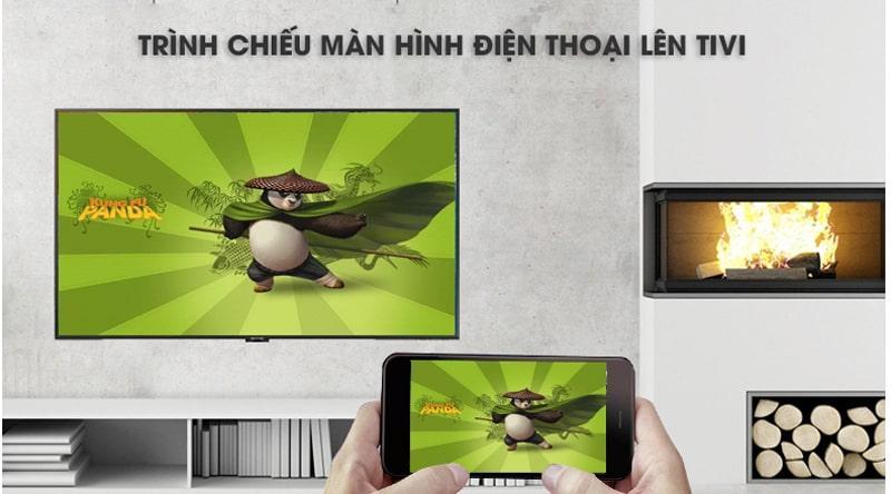 Chiếu màn hình điện thoại lên TV