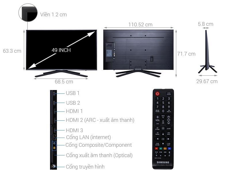 Tivi Samsung UA49N5500
