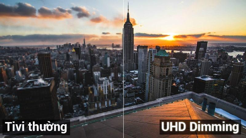Smart tivi Samsung 4K UA55NU7100