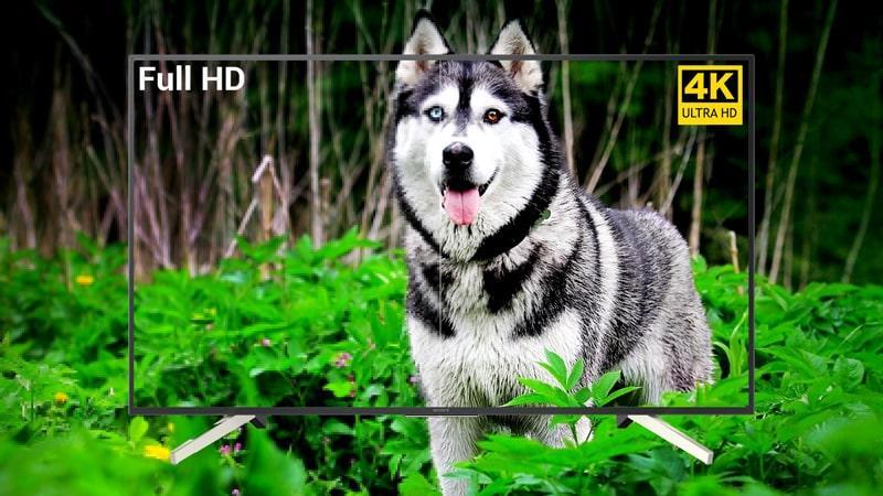 Tivi Sony KD-65X7500F độ phân giải sắc nét