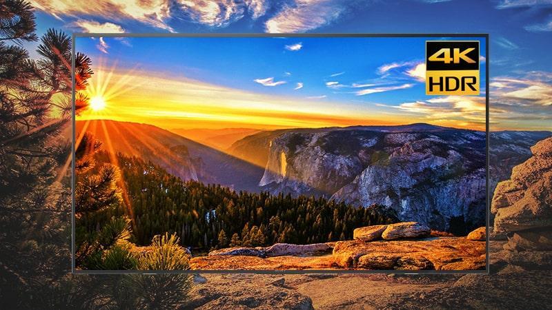 Tivi Sony KD-65X7500F hình ảnh rõ nét,chân thật