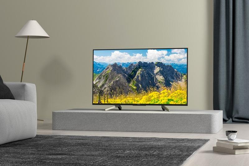 Tivi Sony KD-65X7500F thiết kế sang trọng