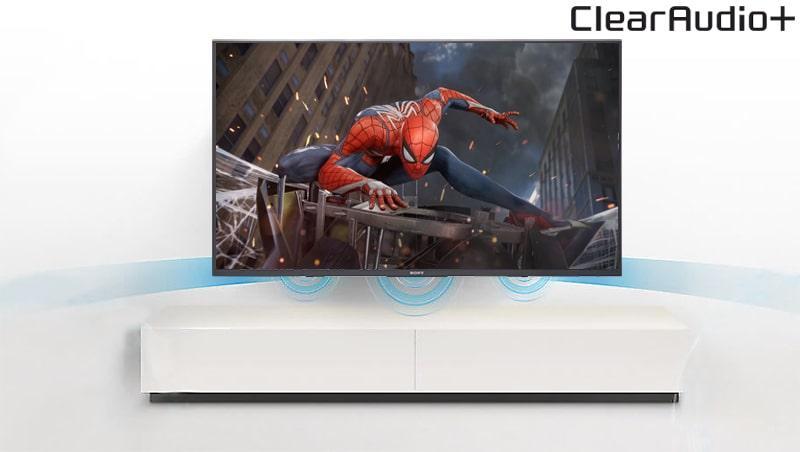 Tivi Sony KD-65X7500F âm thanh rõ ràng,mạnh mẽ
