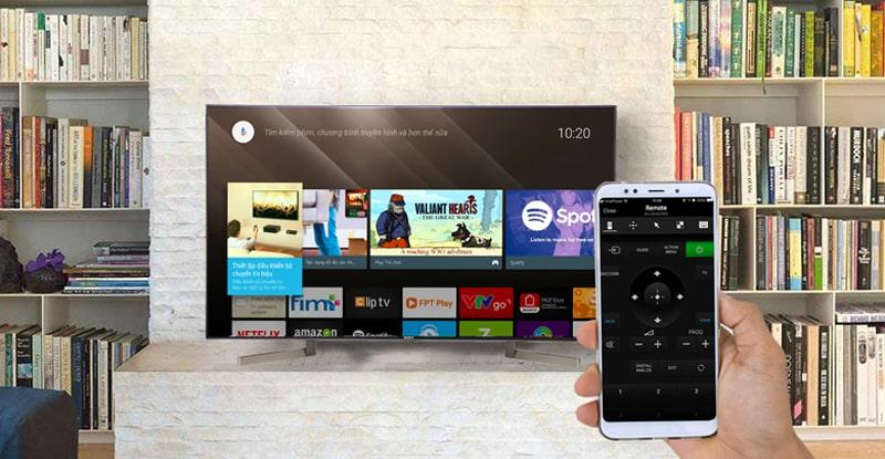 Android Tivi Sony 4K 49 inch KD-49X9000F