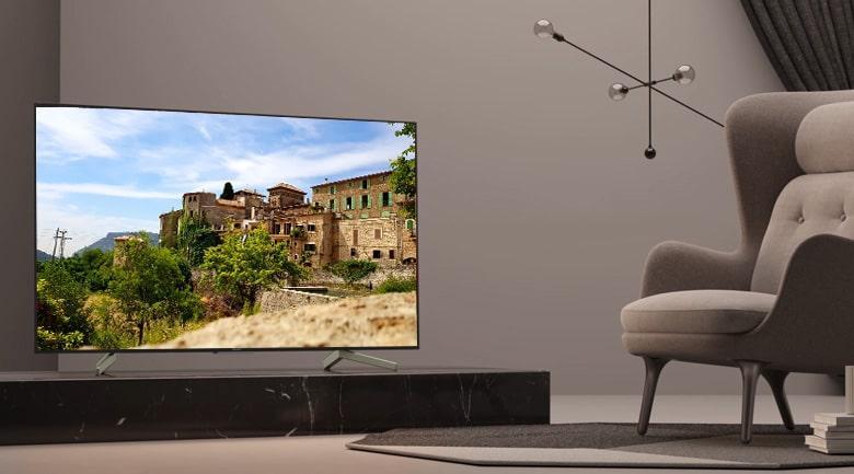 Tivi Sony KD-55X8500F sang trọng