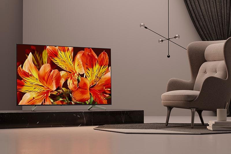 Tivi Sony KD-65X8500F thiết kế sang trọng