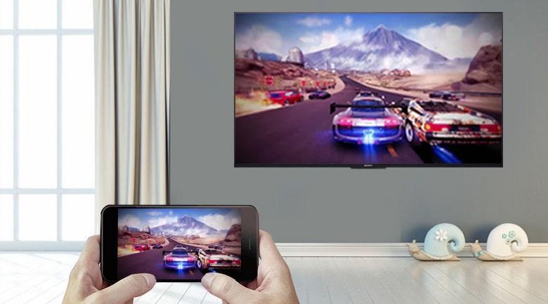 tính năngScreen Mirroring trên tivi