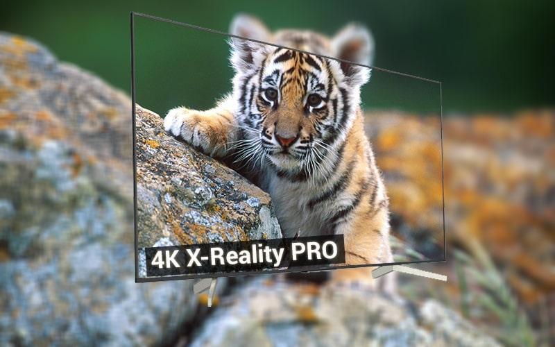 4K X-Reality PRO trên Tivi sony KD-65X8500F