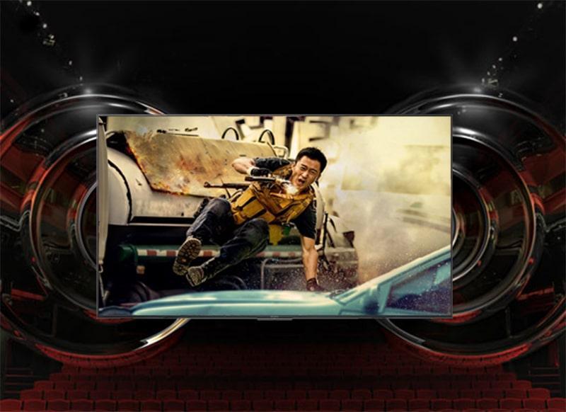 công nghệ âm thanh Audio+ trên tivi sony KD65X8500F