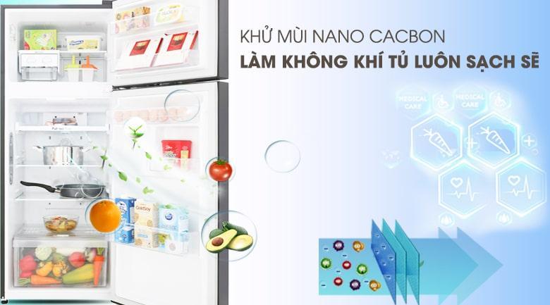 khử mùi nano Cacbon làm không khí trongtur luôn sạch sẽ