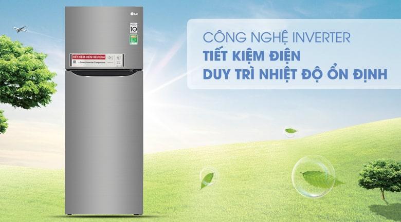 công nghệ inverter tiết kiệm điện duy trì nhiệt độ ổn định