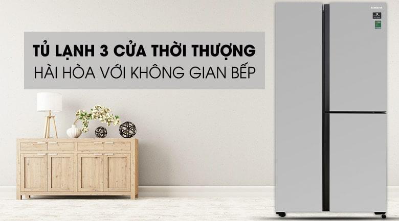 Tủ lạnh Samsung RS63R5571SL/SV thiết kế tối giản,thời thượng