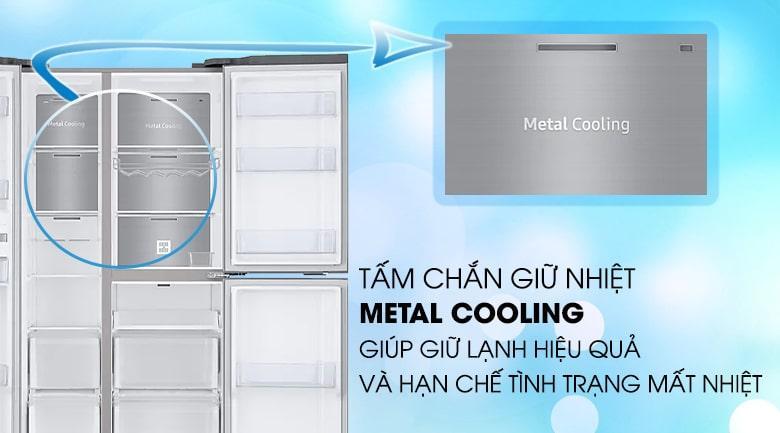 tấm chắn giữ nhiệt METAL COOLING giúp giữ nhiệt hiệu quả và hạn chết mất nhiệt
