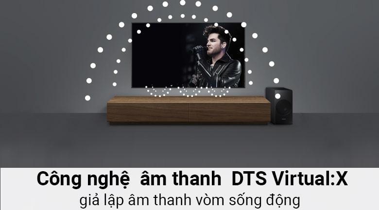 công nghệ âm thanh DTS Virtual:X sống động