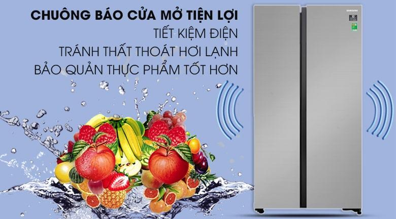 có chuông báo cửa tiện lợi tiết kiệm điện tránh thất thoát hơi lạnh bảo quản thực phẩm tốt hơn