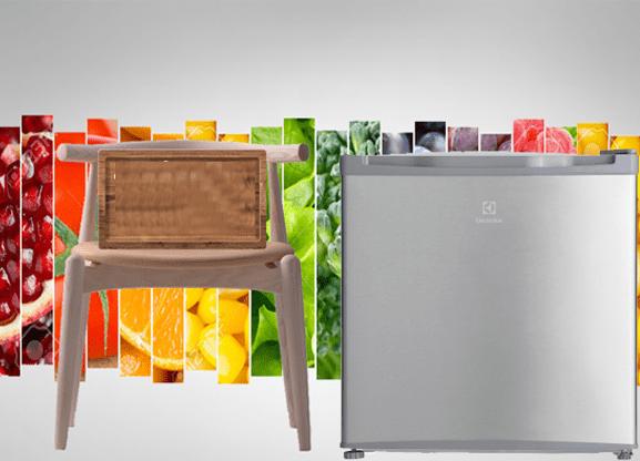 Tủ lạnh Electrolux EUM0500SA/SB thiết kế nhỏ gọn