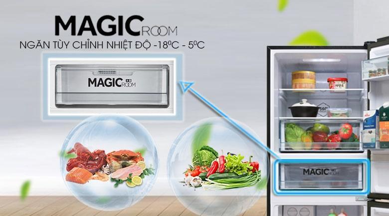 MAGIC ROOM ngăn tùy chỉnh nhiệt độ